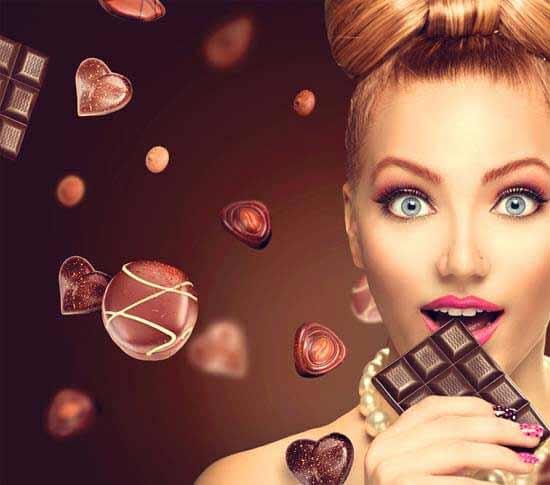 Heißhunger auf Schokolade